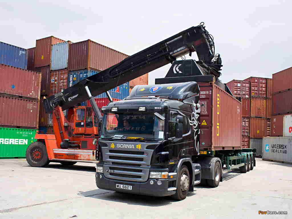 Перевозка грузов Контейнером